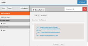 데이터베이스 메인 페이지